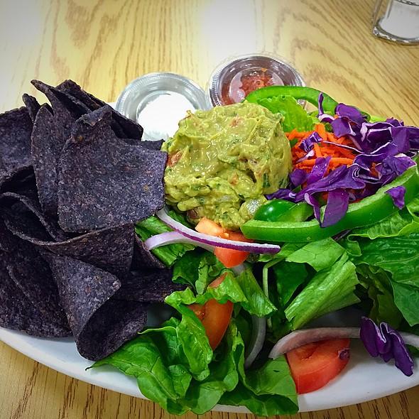 Guacamole Salad Plate @ Manna Grocery & Deli