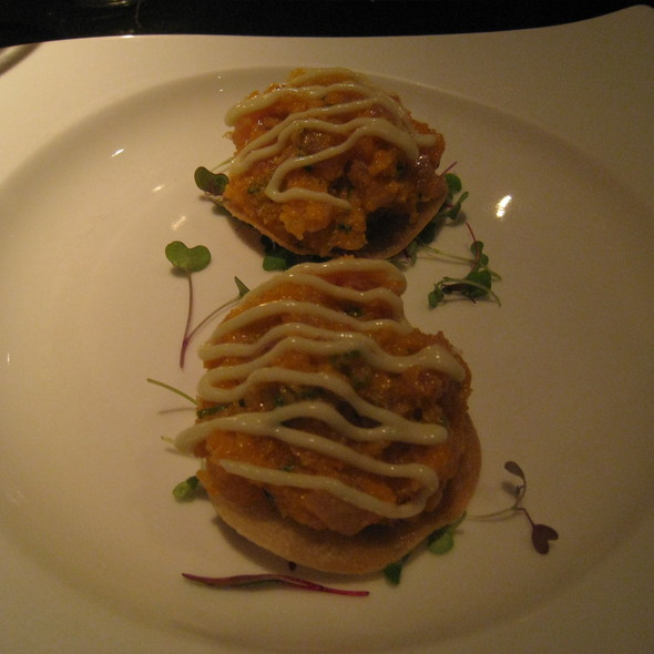 Spicy Crunchy Yellowtail Tartare - Koi, West Hollywood, CA
