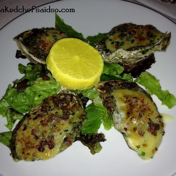 Oysters Rockefeller - Oak Steakhouse