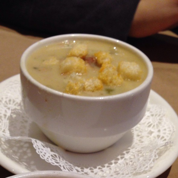 Clam Chowder - The Fireplace, Brookline, MA