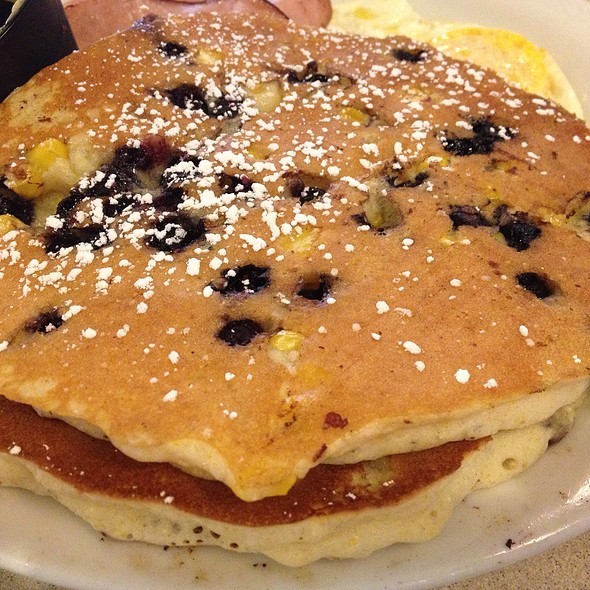 Blueberry Corn Pancake