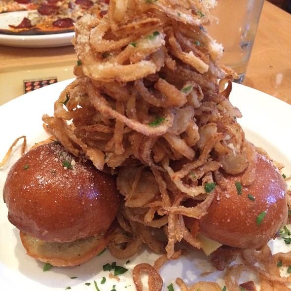 Mini Burgers @ Matchbox Restaurant
