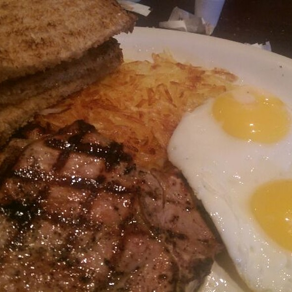 Pork Chops And Eggs @ Jack's Prime Burgers & Shakes