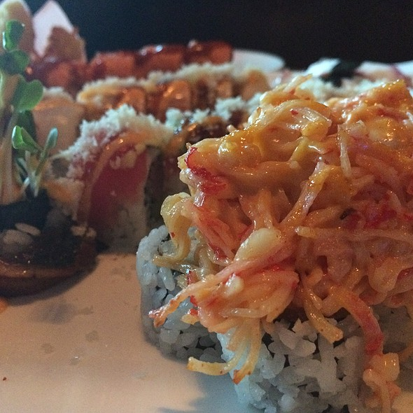Miami Roll - Sakura Garden Japanese Restaurant, Glastonbury, CT