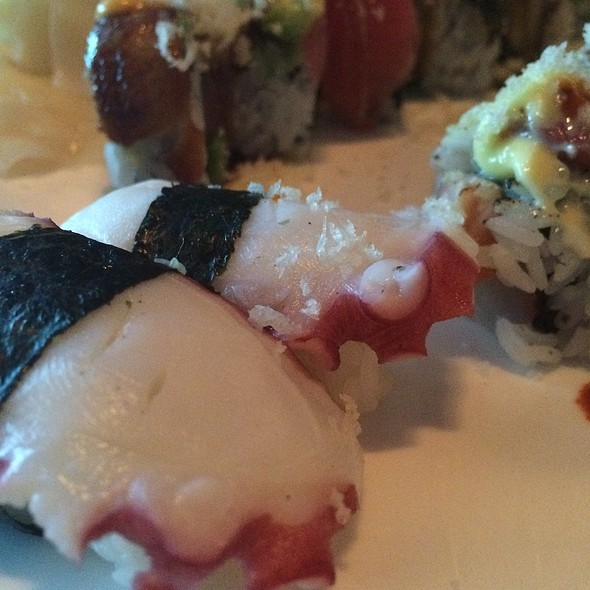 Octopus Sushi - Sakura Garden Japanese Restaurant, Glastonbury, CT