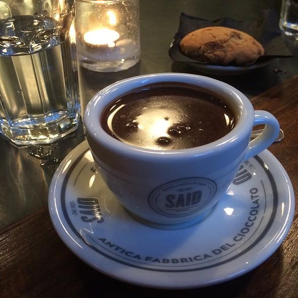 Hot Chocolate @ said dal 1923 antica fabbrica del cioccolato