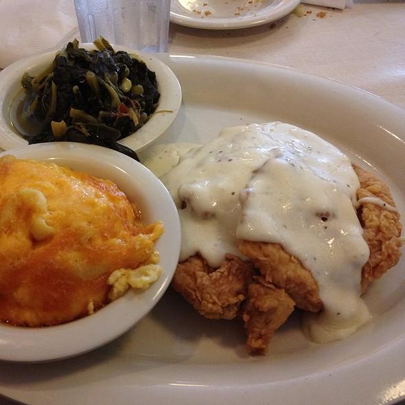 Chicken Fried Chicken @ Mary Mac's Tea Room