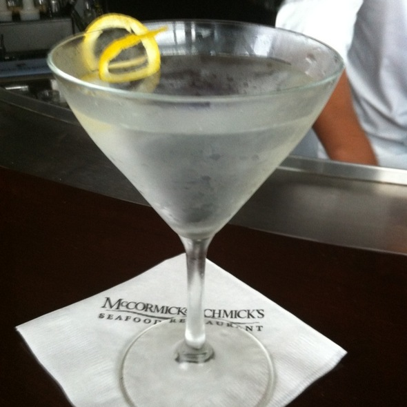 Dry Martini @ McCormick & Schmick's Seafood Restaurant