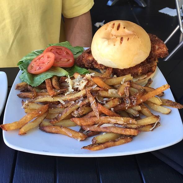 Chicken Parmesean Sandwich @ Crush Wine Bar & Deli