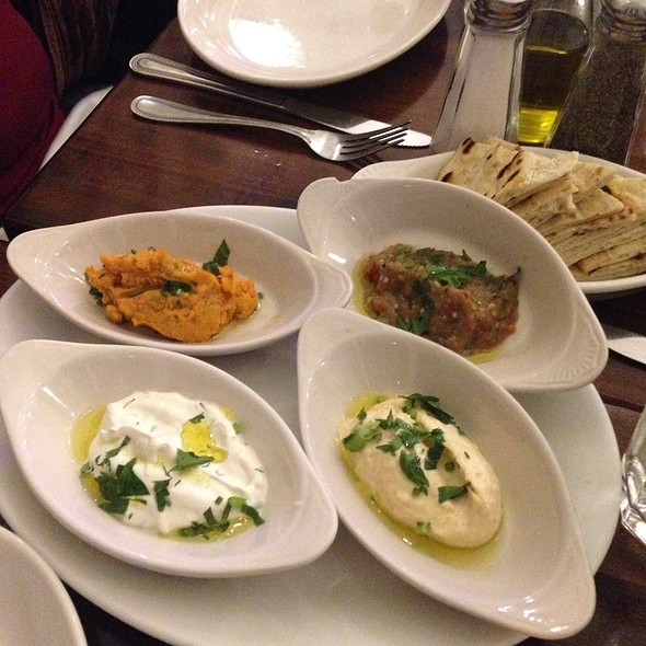 Selection Of Spreads - Kefi, New York, NY