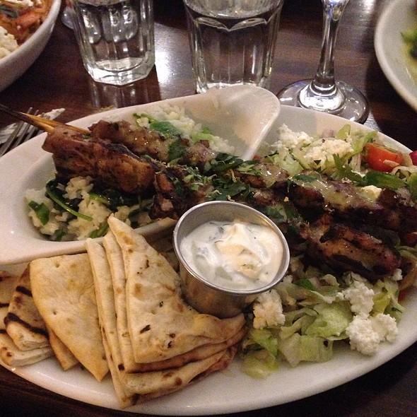 Chicken Souvlaki - Kefi, New York, NY