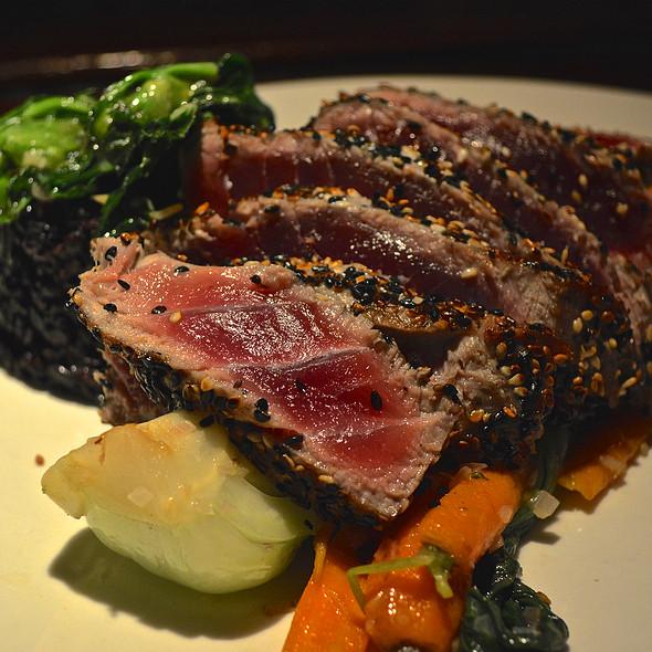Sesame Crusted Ahi Tuna - Thyme, Roslyn, NY