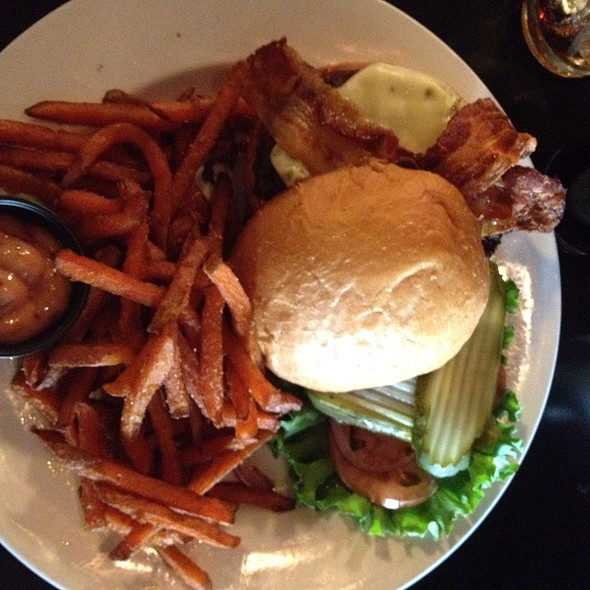 Adobo Burger @ 12 West Bar & Grill