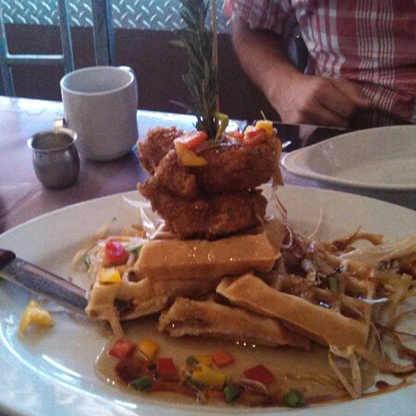 Chicken And (Bacon) Waffles