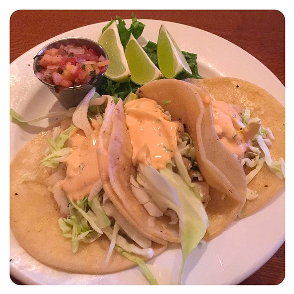 fish tacos @ Four Points by Sheraton Los Angeles International Airport