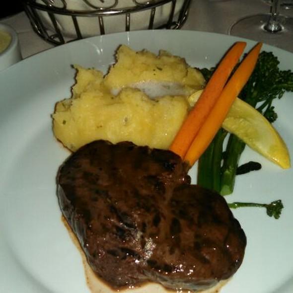 Filet Mignon - Friday's Station Steak & Seafood Grill - Harrah's Lake Tahoe, Stateline, NV