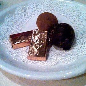 After Dinner Mints & Chocolate Truffles   - Friday's Station Steak & Seafood Grill - Harrah's Lake Tahoe