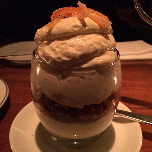 Grapefruit Cheesecake @ Blue Duck Tavern