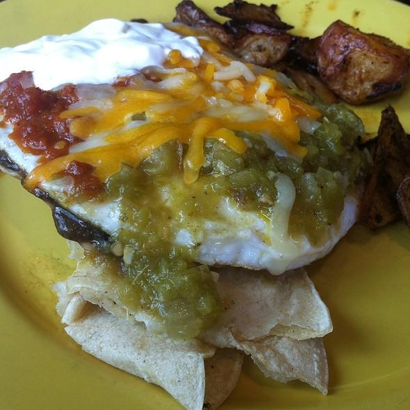 Huevos rancheros - Charley's Restaurant & Saloon, Paia, HI