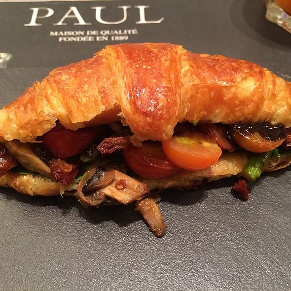 Croissant Aux Légumes @ Paul Bahrain city center