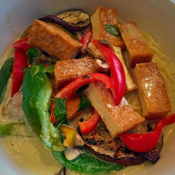 Spicy Eggplant Noodles @ Surin of Thailand Tuscaloosa