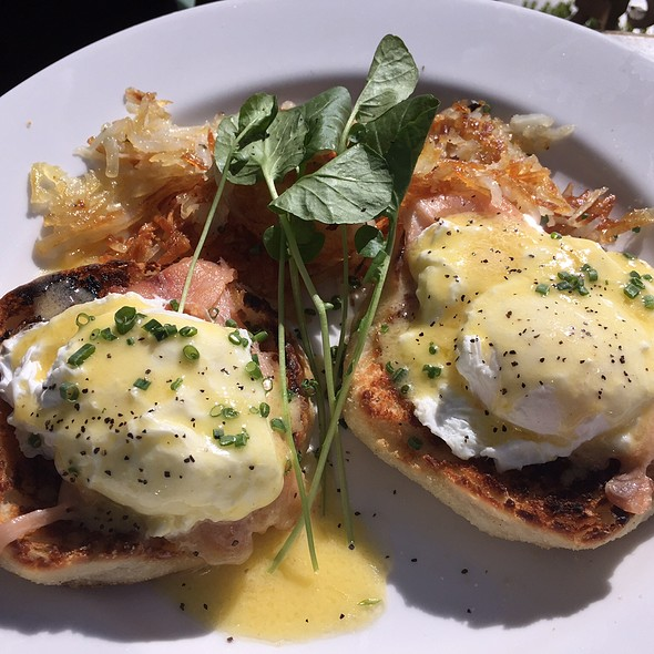 Eggs Benedict With Lox - Mon Ami Gabi - Las Vegas - Main Dining Room, Las Vegas, NV