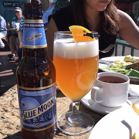 Blue Moon Beer - Mon Ami Gabi - Las Vegas - Main Dining Room, Las Vegas, NV