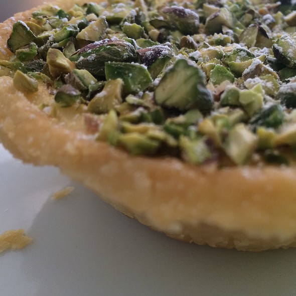 Pistachio Citrus Tart @ At Last Café - JM Chef Catering