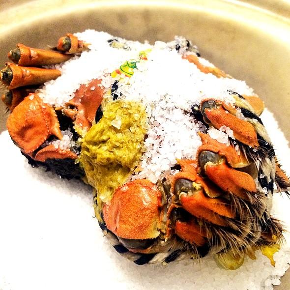 鹽焗大閘蟹,Salted Baked Hairy Crab @ 樂軒華 Le Chinois Restaurant