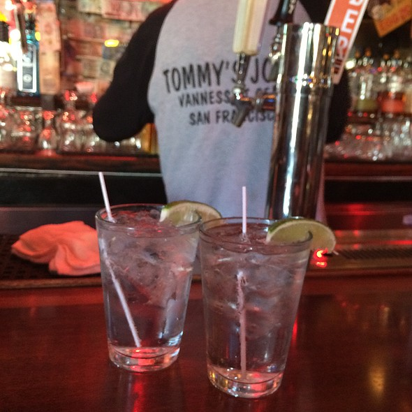 St. George Gin And Tonics