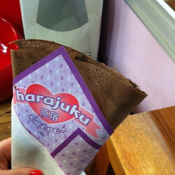 Banana Delight Chocolate Crepes @ Harajuku Crepes