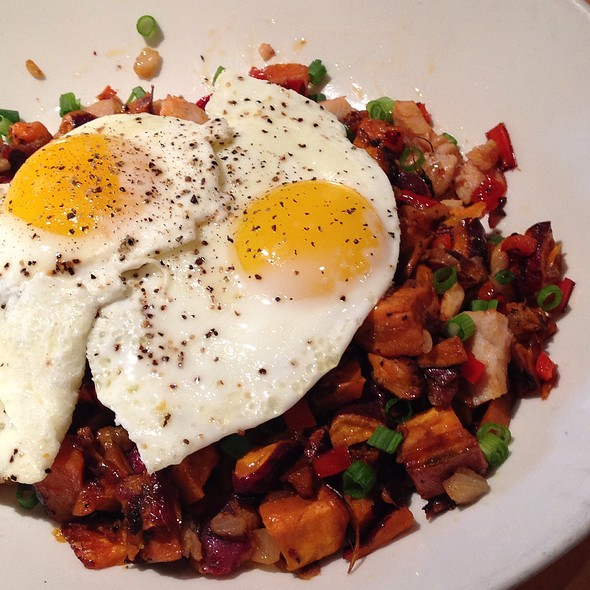 Spicy Turkey And Sweet Potato Hash