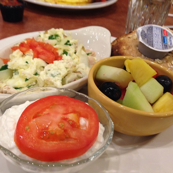 Nurse`s Bialy Breakfast @ The Good Egg