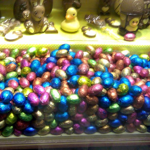 Mini chocolate Easter Eggs @ Le Chocolat