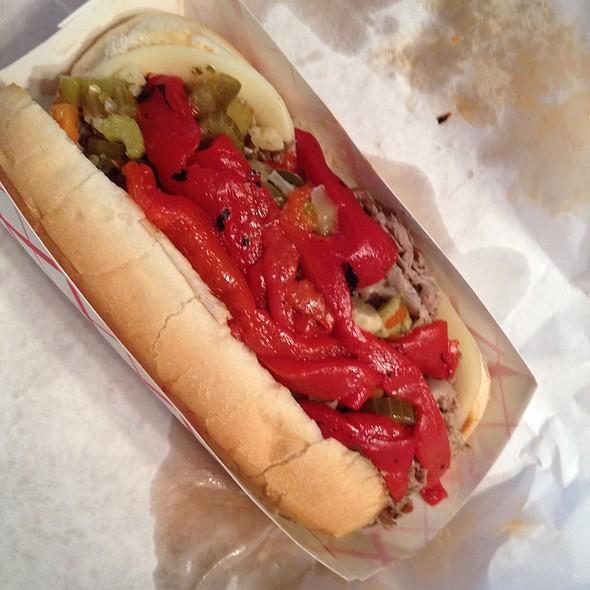 Italian Beef @ Fozzie's Sandwich Emporium