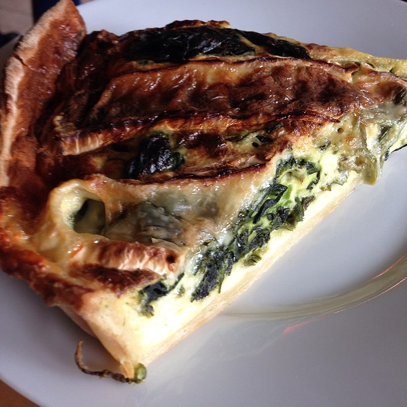Spinach And Brie Quiche