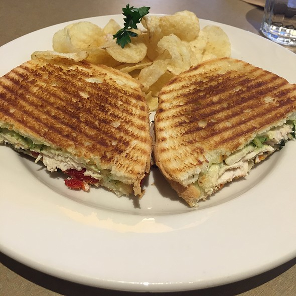 Grilled Pesto Chicken Sandwich @ Nordstrom Cafe