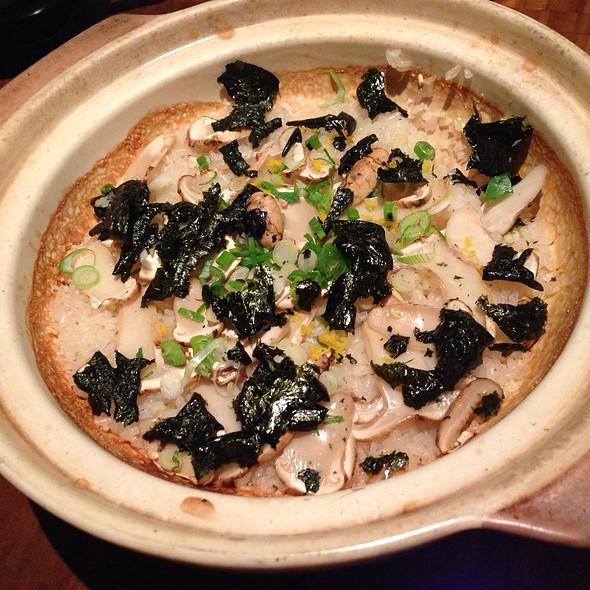 Matsutake Mushroom In Rice