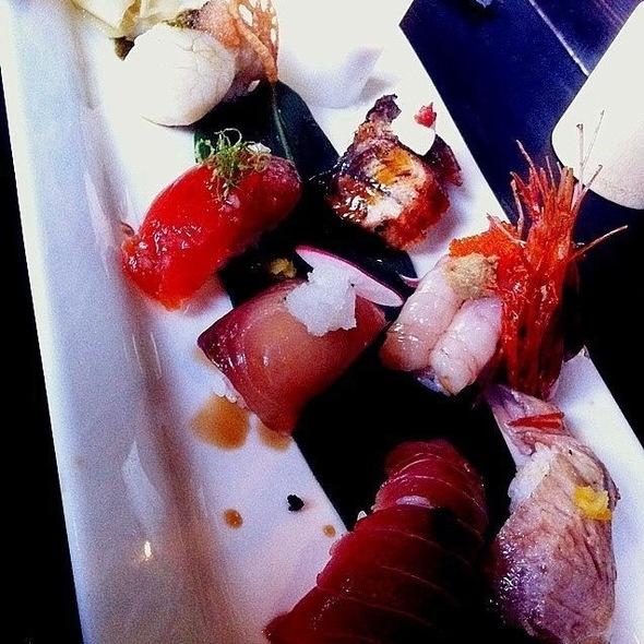 Assorted Sushi @ Kingyo