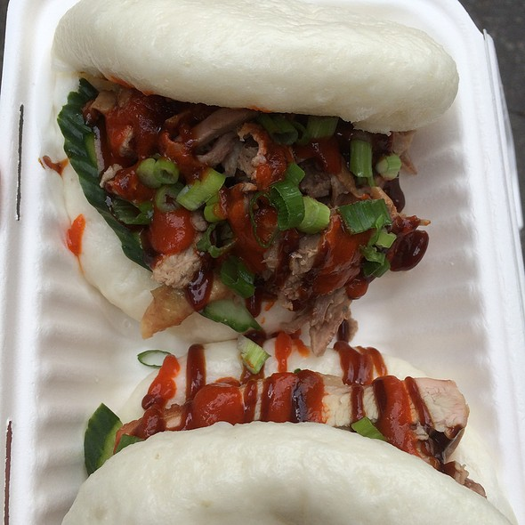 Pork Belly And Duck Steamed Buns @ KIN
