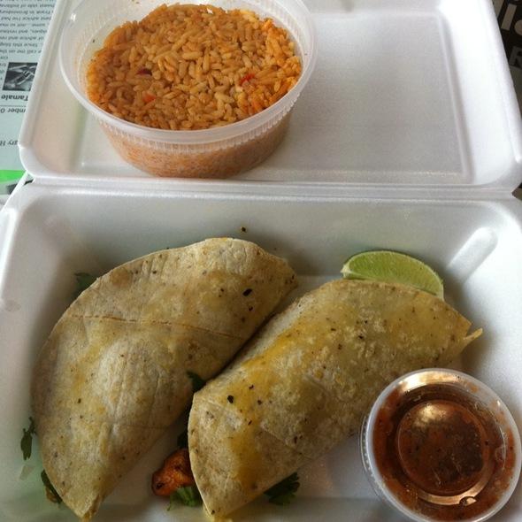 Fish Taco @ Tamale Place