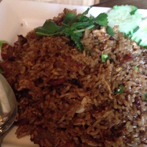 Bbq Pork Fried Rice @ Naradeva Thai Restaurant