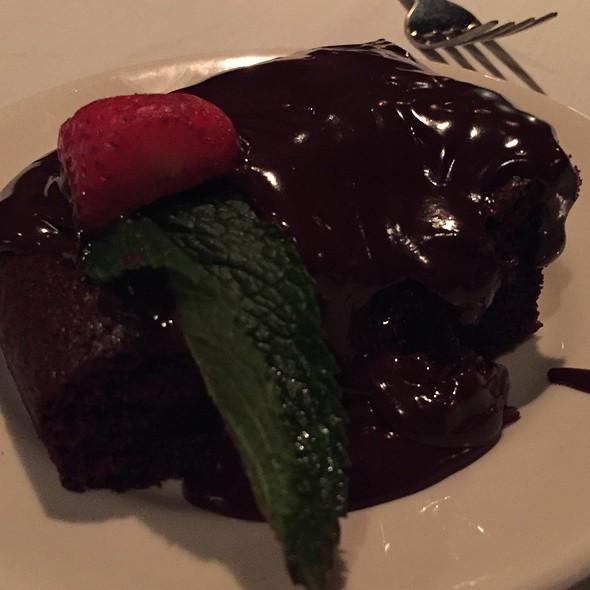 Chocolate Cake - Myron's at Alon Town Center, San Antonio, TX