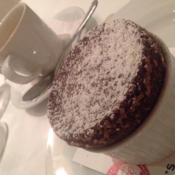 Double Chocolate Caramel Souffle