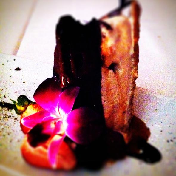 Mocha Caramel Ice Cream Cake @ Dewz Restaurant
