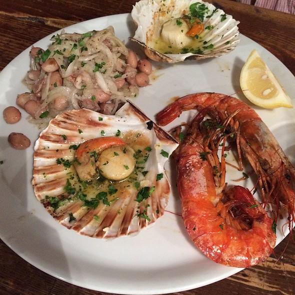 Seafood Sampler @ Osteria Da Carla
