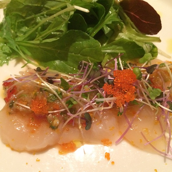 Scallops Carpaccio @ Il Mulino New York