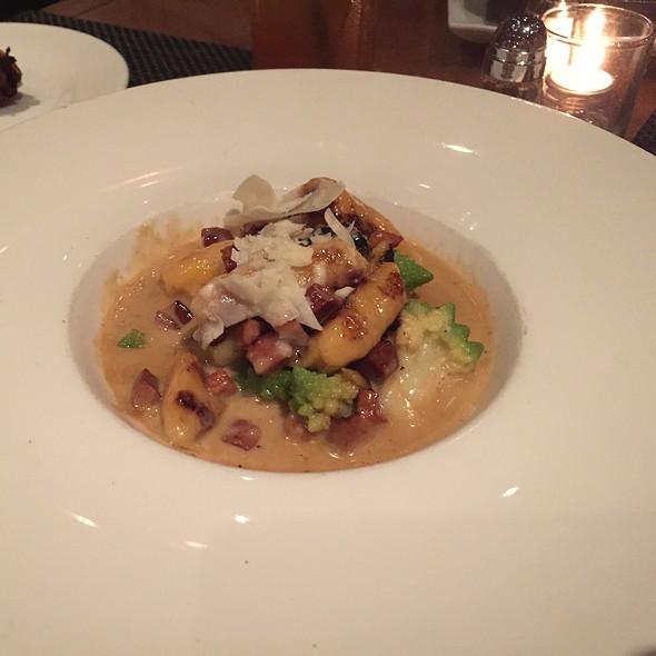 Sweet Potato Gnocci With Romanezco - Park West Tavern, Ridgewood, NJ