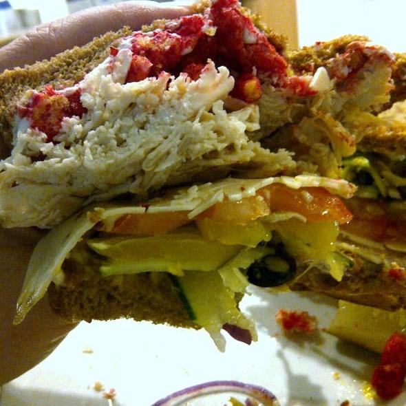 Hot Poppa Sandwich @ FatBoy's Cornerstore & Deli