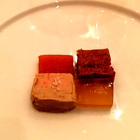 Foie Gras Torchon With Quince Jelly, Grape Musk, And Brioche - Teatro Restaurant, Calgary, AB